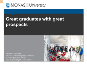Great graduates with great prospects