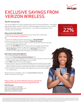 What plans does Verizon Wireless offer?