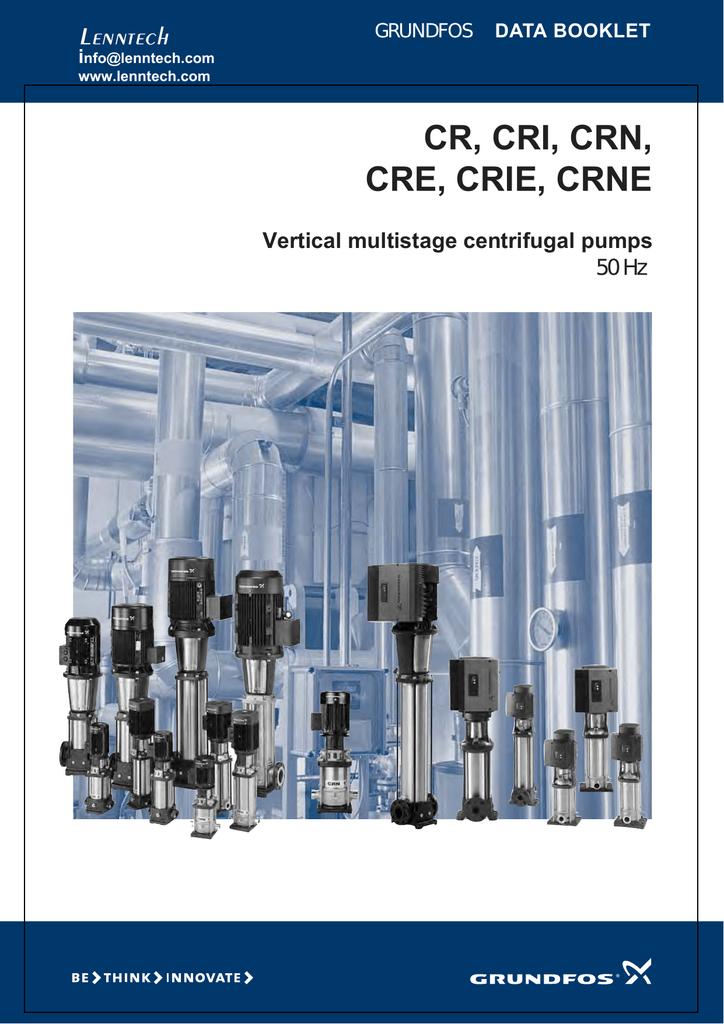 Bedste valg outlet til salg klassiske stilarter CR, CRI, CRN, CRE, CRIE, CRNE Lenntech Vertical multistage ...