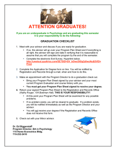 ATTENTION GRADUATES!