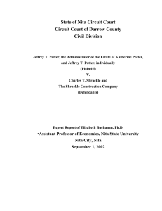 State of Nita Circuit Court Circuit Court of Darrow County Civil Division