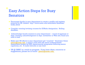 + Easy Action Steps for Busy Senators