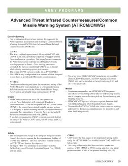 U.S. Army Weapon Systems – USAASC