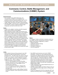 Command, Control, Battle Management, and Communications (C2BMC) System
