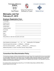 Metroplex Job Fair February 27, 2015 Employer Registration Form