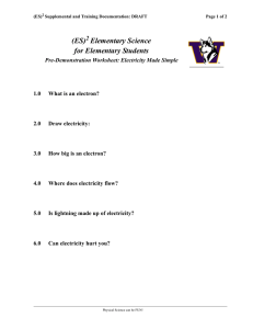 (ES) Elementary Science for Elementary Students 2