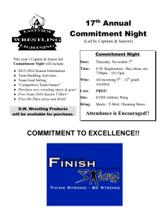 17 Annual Commitment Night