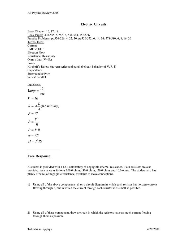 Electric Circuits Series Parallel Circuit Formula And 010905974 1 Db29fb9817e4d097530f3e20a6d4de82