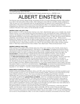 10 surprising facts about Einstein