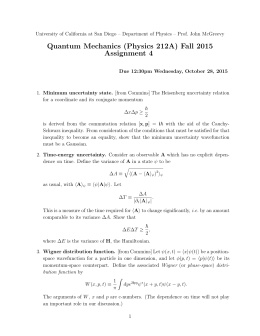 assignment 4 physics i Summer assignment for ap physics 1: rationale: the purpose of this assignment is to guide you through math remediation in areas that correspond to physics you must plan to do many problems over and over again until you reach mastery.