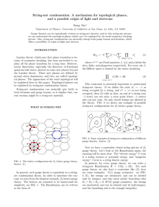 String-net condensation: A mechanism for topological phases,