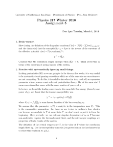 Physics 217 Winter 2016 Assignment 5