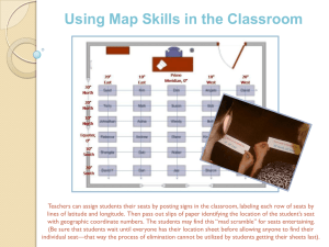 Using Map Skills in the Classroom