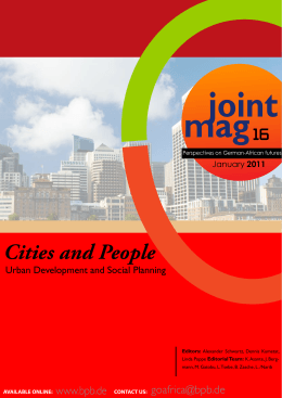 joint mag Cities and People 16
