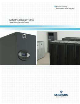 liebert® mc™ microchannel coil condenser liebert challenger 3000 space saving precision cooling