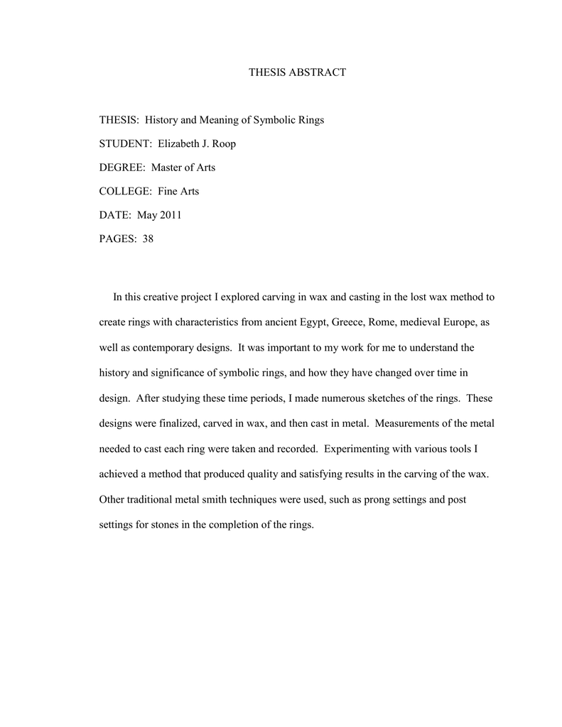 how to write a dissertation abstract humanities
