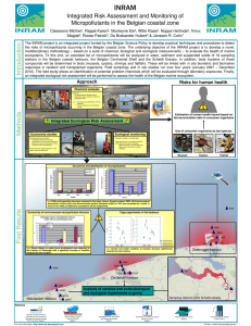INRAM Integrated Risk Assessment and Monitoring of