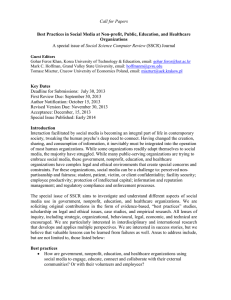 Call for Papers  Social Science Computer Review