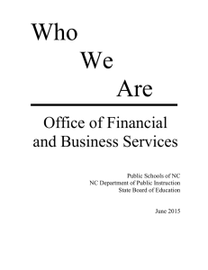 Who We Are Office of Financial