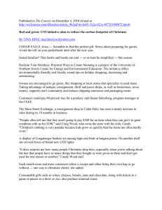 The Courier )  By TINA HINZ,