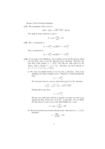 Chapter 3 Even Problem Solutions p ||34ˆi + 13ˆ