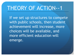 THEORY OF ACTION--1