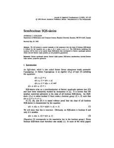 Journal of Algebraic Combinatorics 2 (1993), 147-153