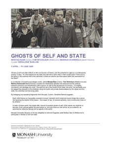 GHOSTS OF SELF AND STATE