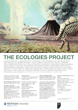 THE ECOLOGIES PROJECT