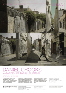 Daniel crooks a garden of parallel paths MONASH UNIVERSITY MUSEUM OF ART