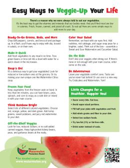 Easy Ways to Your Veggie-Up Life