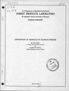 SD4 33  / FOREST PRODUCTS LABORATORY
