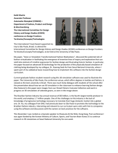 Kathi Martin  Associate Professor  Antoinette Westphal (COMAD) –  Department of Fashion, Product and Design