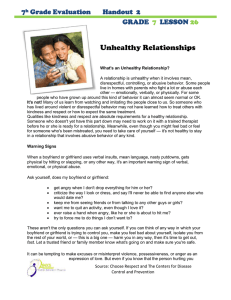 Unhealthy Relationships 7