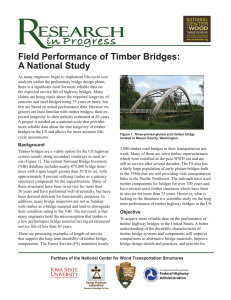 Field Performance of Timber Bridges: A National Study