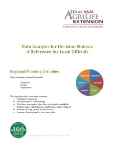 Data Analysis for Decision Makers: A Reference for Local Officials