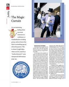 The Magic Curtain y hobb