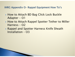 How to Attach BD Bag Click Lock Buckle Adapter - O1