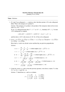 MA1S12 (Timoney) Tutorial sheet 4b [February 10–14, 2014] Name: Solutions