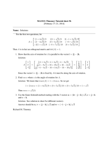 MA1S12 (Timoney) Tutorial sheet 5b [February 17–21, 2014] Name: Solutions