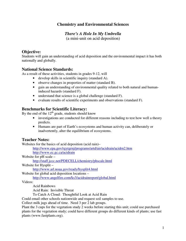 Worksheets Ph And Acid Rain Worksheet Waytoohuman Free Worksheets