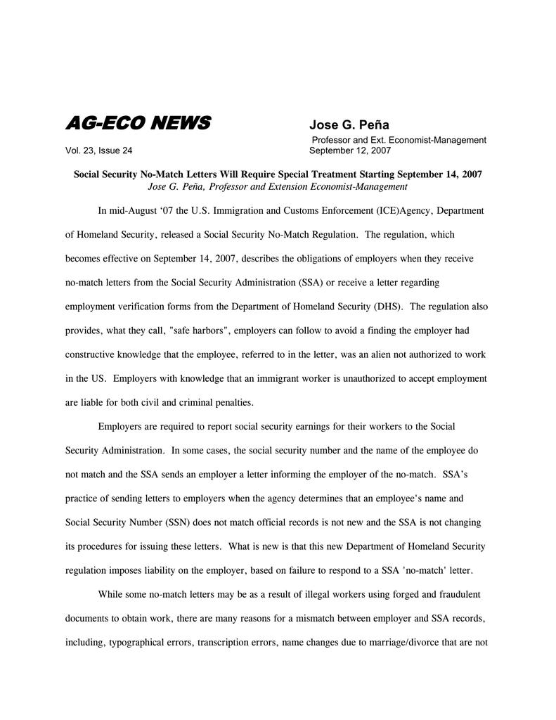 AG-ECO NEWS Jose G  Peña