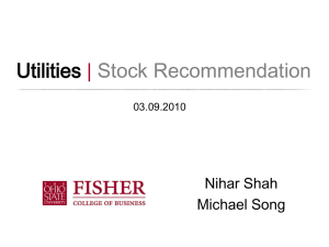 Utilities | Stock Recommendation Nihar Shah