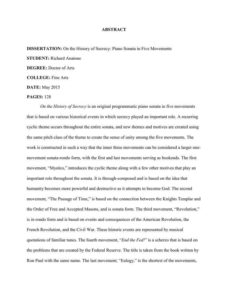 Research paper about food service
