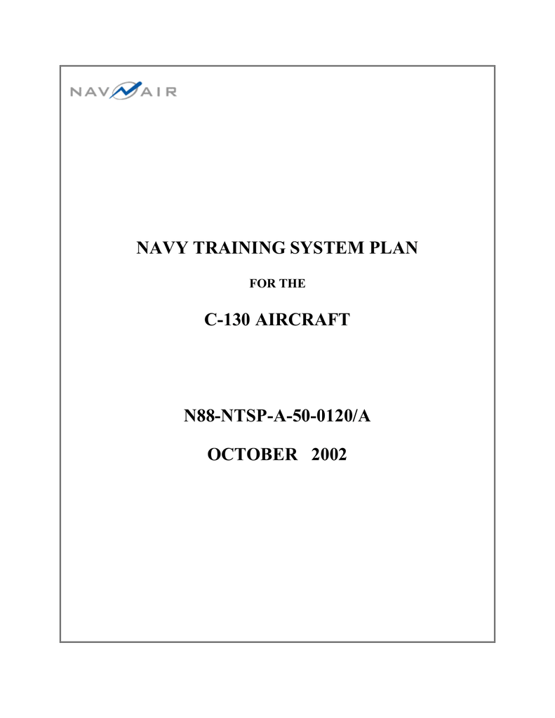 8206 Msd Coil Wiring Diagram Ignition Box Hei Transmission Navy Training System Plan C 130 Aircraft N88 Ntsp A 50