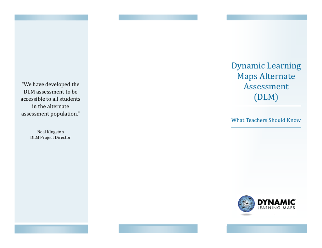 on dynamic learning maps