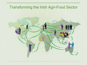 Transforming the Irish Agri-Food Sector