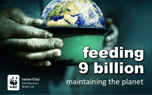 feeding 9 billion maintaining the planet Jason Clay