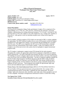 Office of Financial Management Washington State Major Project Status Report June, 2015