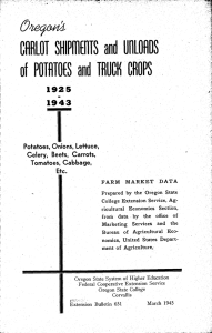 nertat 1925 1943 of POPITE and TRUCK CROPS